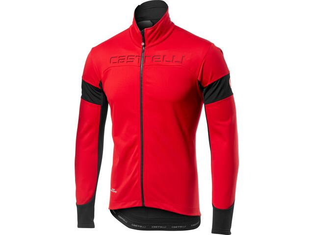 Castelli Transition Jacket Herre red/black
